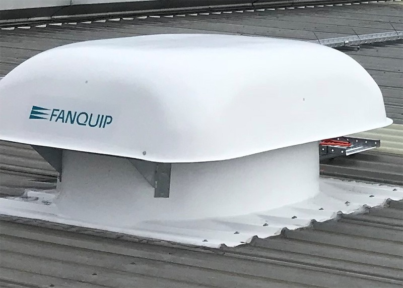 Profile Base Hooded Roof Fan Cover