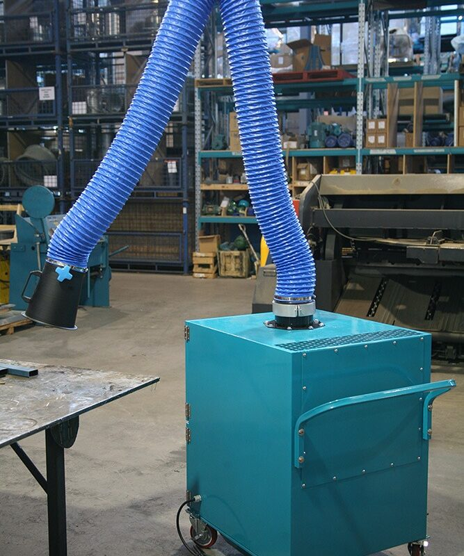 Mobile Fan Fume Extractor